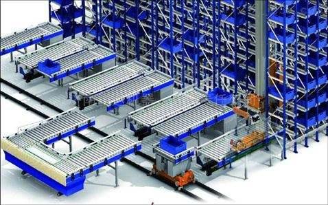 智能立体库仓库的基本结构组成是什么样的