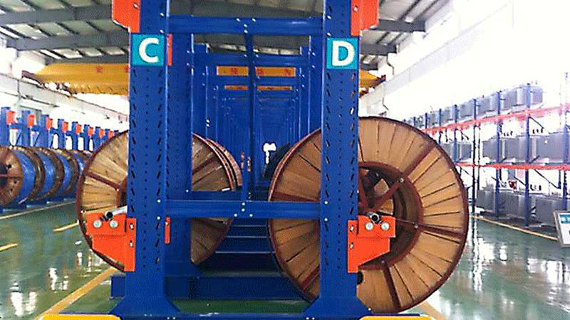 电缆货架在仓库当中的实际应用