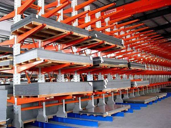 存放长型钢材选择什么货架?