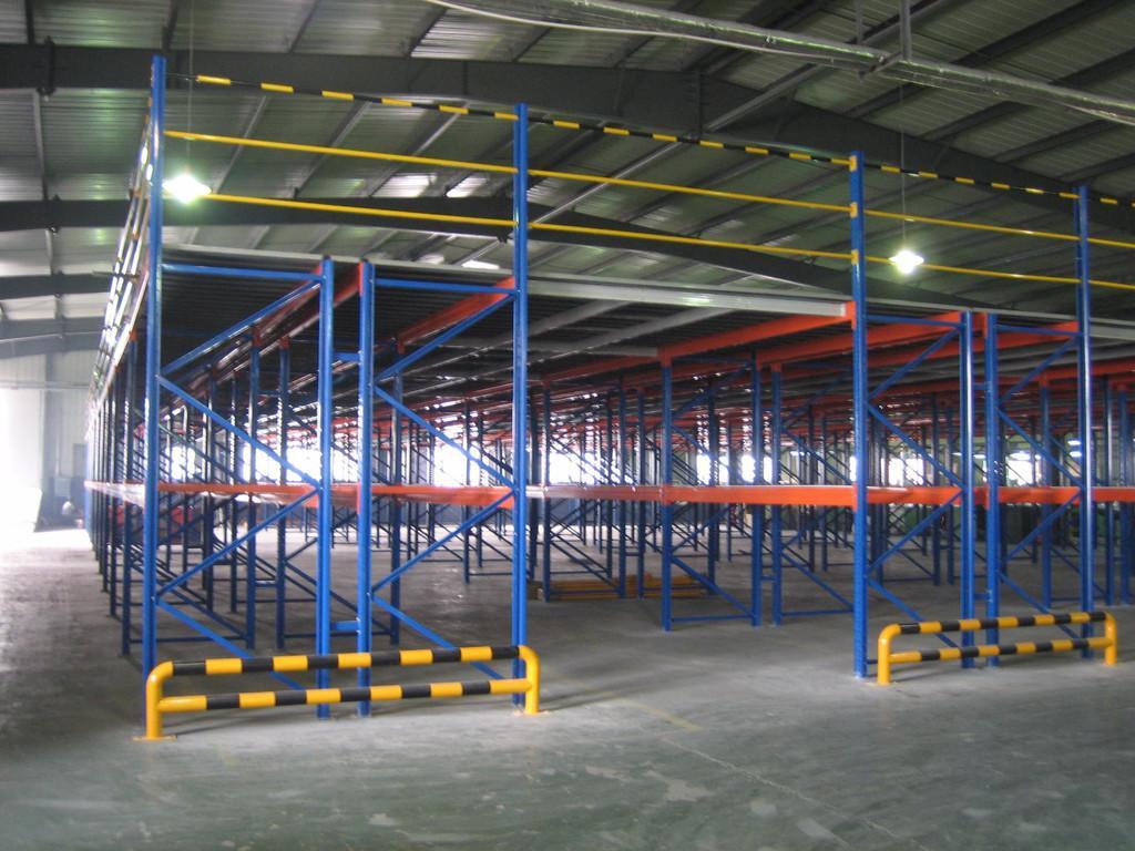 仓库钢结构平台